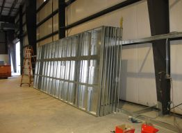 Panels ready for shipment at our Hattiesburg facility