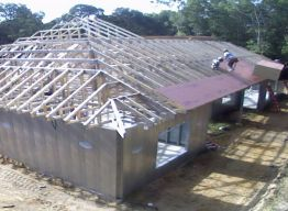 Sheathing and Piggyback trusses